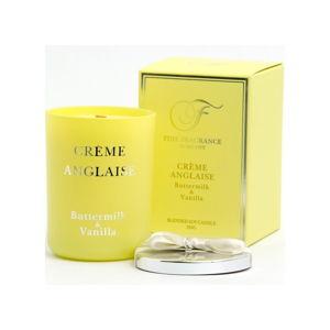 Świeczka w szkle z woskiem sojowym o zapachu kremu Anglaise Candle-Lite, 50 h