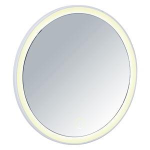Bałe lustro z oświetleniem LED Wenko Isola