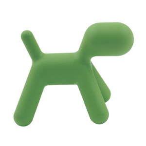 Zielone dziecięce krzesełko w kształcie pieska Magis Puppy, wys. 81 cm