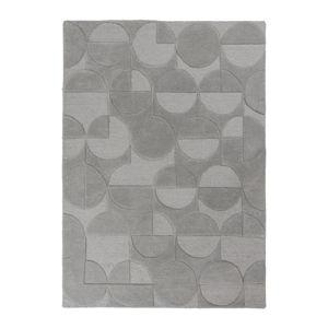 Szary dywan z wełny Flair Rugs Gigi, 160x230 cm