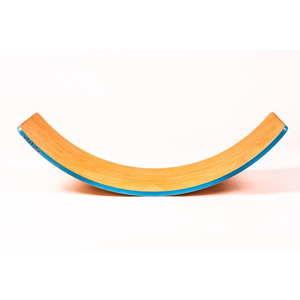 Deska bukowa do balansowania z jasnoniebieską krawędzią Utukutu, dł.82cm