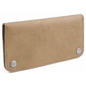 Beżowy portfel skórzany Woox Triviala Natura