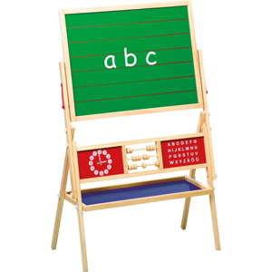 Tablica drewniana z liczydłem Legler Blackboard Multifunctional