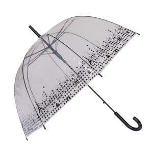Przezroczysty parasol Birdcage Paris, ⌀79cm