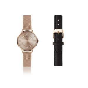 Damski zegarek z dodatkowym paskiem Victoria Walls Luna