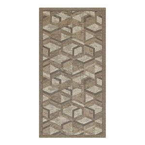 Szaro-brązowy chodnik Floorita Hypnotik, 55x115 cm
