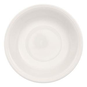 Biały porcelanowy talerz głeboki Like by Villeroy & Boch Group, 23,5 cm