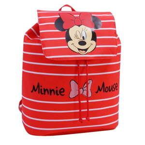 Czerwony plecak szkolny Bagtrotter Stripes Minie