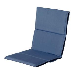 Niebieska poduszka na fotel ogrodowy Hartman Casual, 107x50 cm