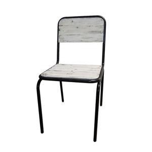 Krzesło do jadalni Antic Line Industrielle Blanc