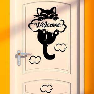 Naklejka Fanastick Cat, 10x10 cm