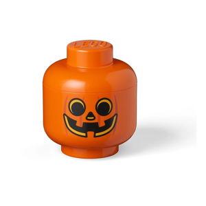 Pomarańczowe pudełko do przechowywania LEGO® Pumpkin Head S