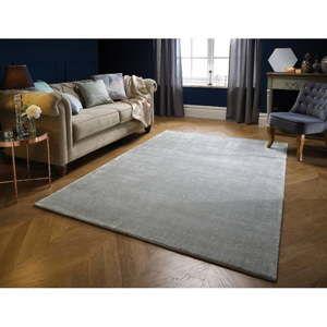 Szary ręcznie tkany dywan Flair Rugs Swarowski, 120x170 cm
