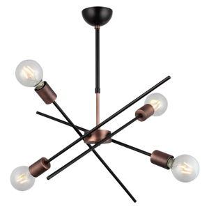 Lampa wisząca z 4 żarówkami Gera