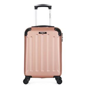 Różowa walizka z 4 kółkami Bluestar San Diego
