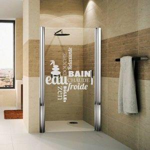 Naklejka wodoodporna do łazienki Ambiance Zen