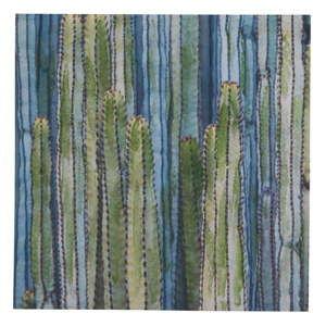 Obraz na płótnie Geese Modern Style Cactus Dos, 70x70 cm