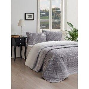 Zestaw narzuty na łóżko i poszewki Lura Cula, 160x220 cm