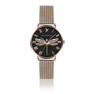 Zegarek damski z paskiem ze stali nierdzewnej w różowozłotym kolorze Emily Westwood Miraga