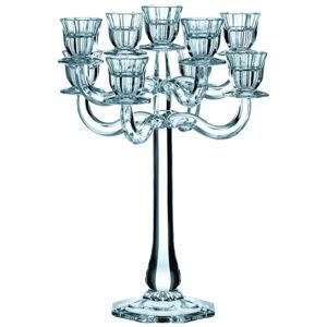 Świecznik na 9 świeczek ze szkła kryształowego Nachtmann Ravello