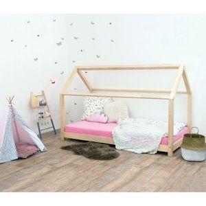 Łóżko dziecięce z drewna świerkowego Benlemi Tery, 90x190 cm