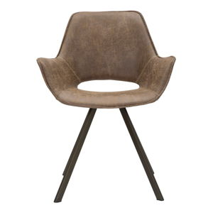 Krzesło z metalowymi nóżkam Mauro Ferretti Texas