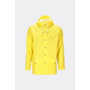 Żółta kurtka unisex o wysokiej wodoodporności Rains Jacket, rozm. S/M
