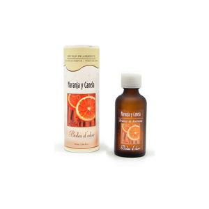 Olejek do dyfuzora ultradźwiękowego o zapachu pomarańczy i cynamonu Ego Dekor Naranja y Canela, 50 ml