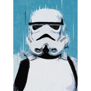 Plakat Blue-Shaker Star Wars 13, 30x40 cm