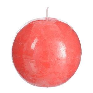 Różowa świeczka J-Line Ball
