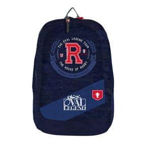 Niebieski plecak szkolny Bagtrotter Oval Legend