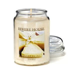 Świeczka w szkle o zapachu kremu waniliowego Candle-Lite, 120 h