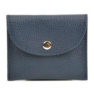 Ciemnoniebieski portfel skórzany Sofia Cardoni