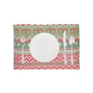 Zestaw 2 świątecznych mat stołowych Apolena Shine Classic, 33x45 cm