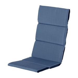 Niebieska poduszka na fotel ogrodowy Hartman Casual, 123x50 cm