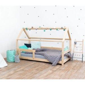Łóżko dziecięce z naturalnego drewna świerkowego Benlemi Tery, 90x180 cm