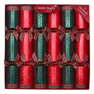 Zestaw 12 świątecznych crackerów Robin Reed Highland Reel