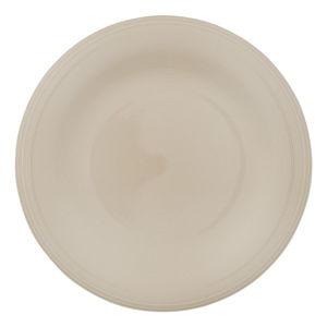 Biało-beżowy porcelanowy talerz Like by Villeroy & Boch Group, 28,5 cm