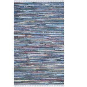 Niebieski dywan Safavieh Elena, 182x121 cm