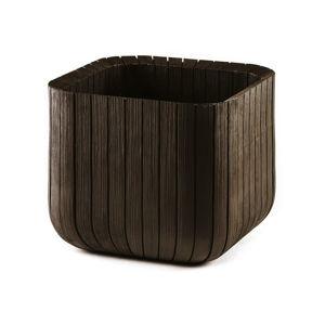 Brązowa doniczka ogrodowa Keter, 40x40 cm