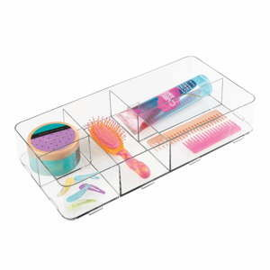 Duży organizer InterDesign Clarity Drawer, dł. 41 cm