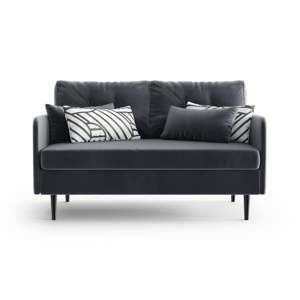 Antracytowa sofa 2-osobowa Daniel Hechter Home Memphis Anthracite