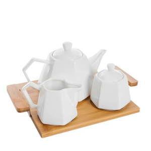 Serwis do herbaty z tacą Bambum Panna