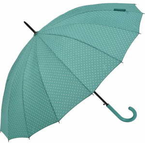Zielony parasol Ambiance Triangles, ⌀ 122 cm