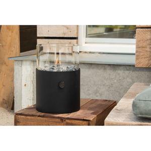 Czarna lampa gazowa Cosi Original, wys. 30,5 cm
