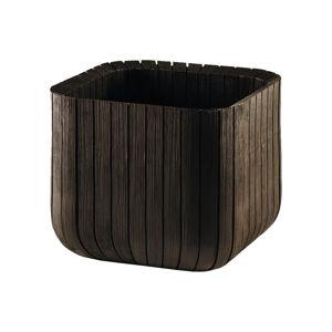 Brązowa doniczka ogrodowa Keter, 30x10 cm