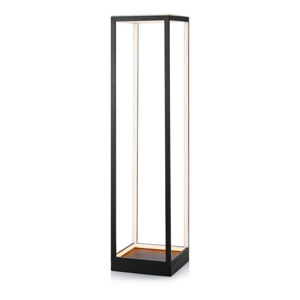 Czarna lampa stojąca Markslöjd Mood Floor LED BLack