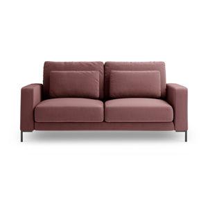Różowa sofa Interieurs 86 Seine, 158 cm