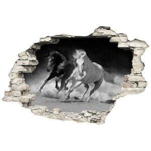 Naklejka Ambiance Horses, 60x90 cm
