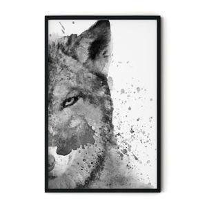 Plakat w ramie Insigne Foxy, 70x110 cm